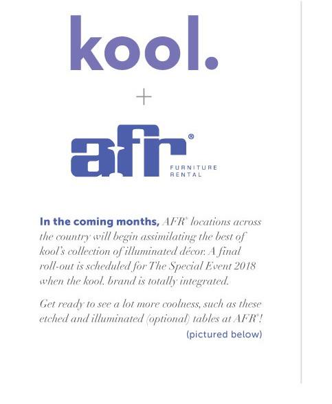 Afr Furniture Rental Has Acquired Phoenix Arizona Based Kool Afr