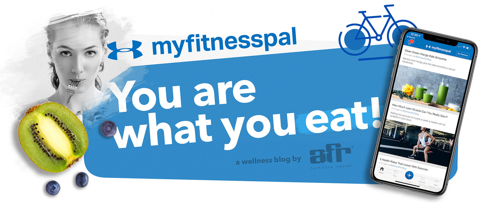 You Are What You Eat: MyFitnessPal - AFR Furniture Rental and AFR