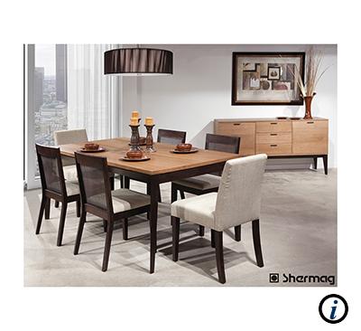 AFR Furniture Rental Home Staging Dining Room