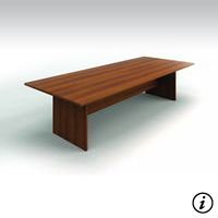 10' Conference Table (Avant Honey)