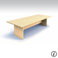 10' Conference Table (Tiger Maple)