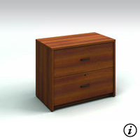 2 Drawer Lateral File (Avant Honey)