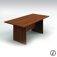 6' Conference Table (Avant Honey)