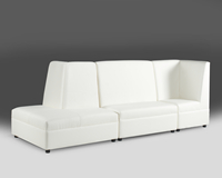 Sophistication Madras White Leather Collection Rental