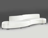 Continental Madras White Leather Collection