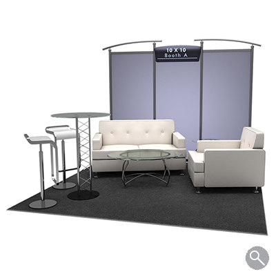 Trade Show Booth Lounge : Rental trade show booths d models afr rentals