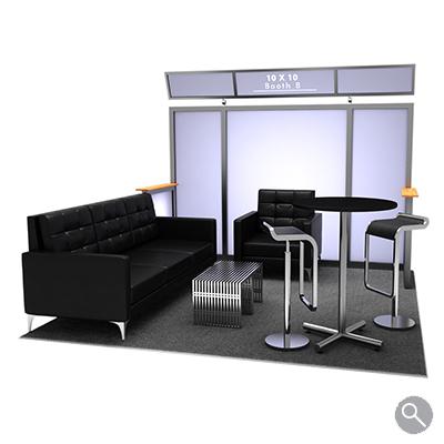 Rental Trade Show Booths 10x10 3d Models Afr Rentals